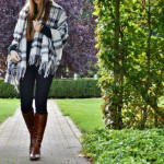 Trend: sjaal poncho