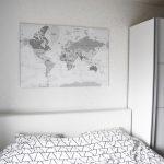 Een nieuwe, grotere, wereldkaart